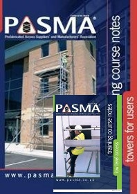 PASMA Combined Towers For Users & Low Level Access Training Course Booklets